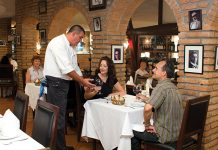 Toscana: offering a wide variety of wines to complement a great menu