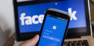 CHIANG MAI, THAILAND - OCTOBER 21, 2014: Facebook application si