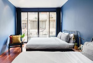 Blue-toned Townhouse