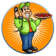 Nick Pizza Logo